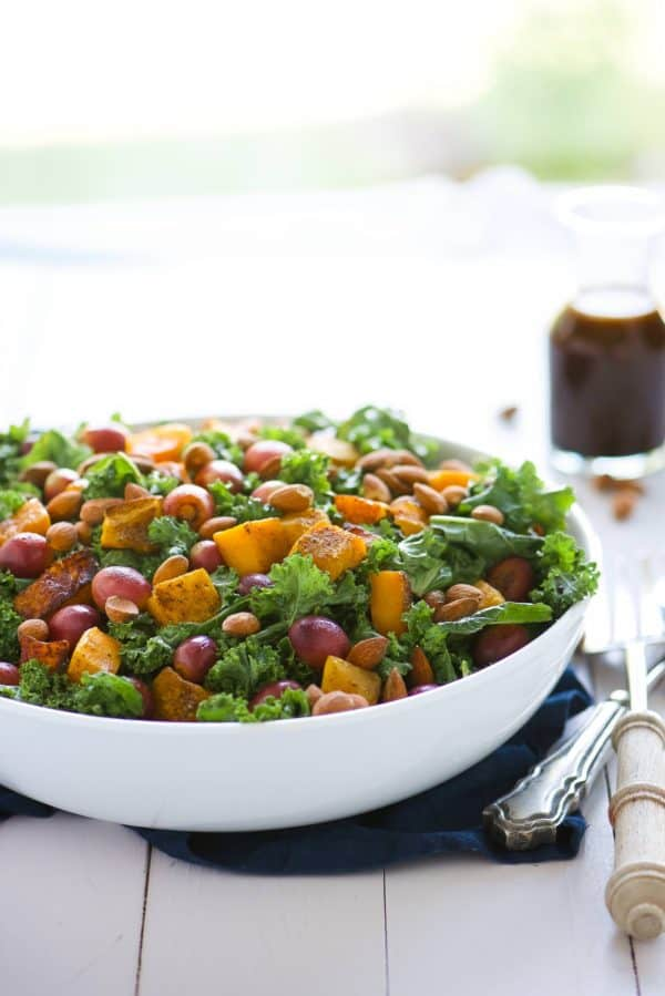 massaged-kale-salad-with-caramelized-butternut-squash-and-grapes_