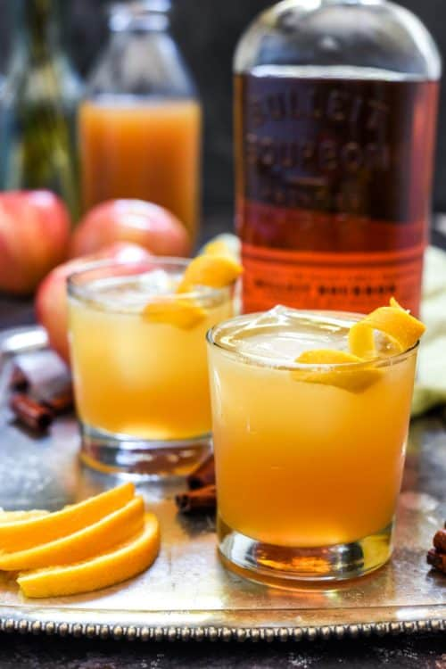 Bourbon Apple Cider Cocktail | Neighbor Food Blog