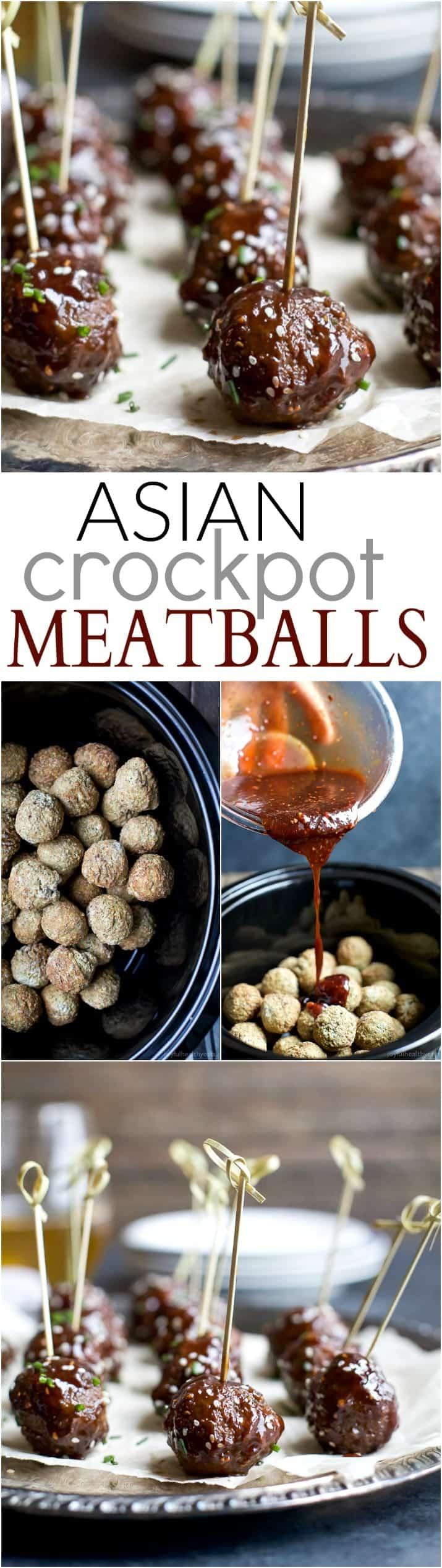 Asian Crockpot Meatballs Recipe