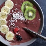 Banana Berry Smoothie Bowl - web-5