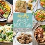 Healthy Meal Plan Week #75