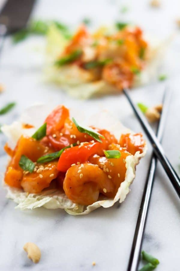skinny-sweet-and-sour-shrimp-lettuce-wraps-3