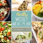 Healthy Meal Plan Week #74