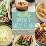 Healthy Meal Plan Week #72