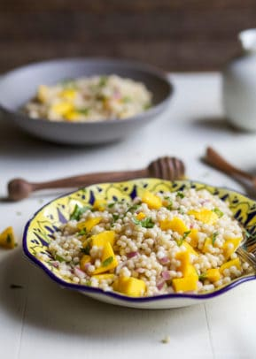 Image of a Mango Couscous Salad