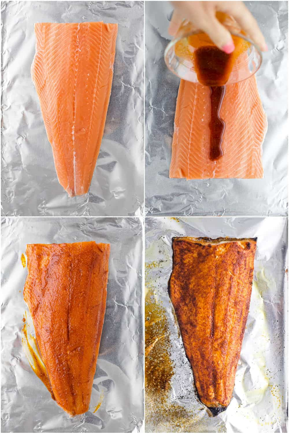 how to make spice rub baked salmon