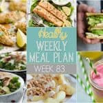 Healthy Meal Plan Week #83