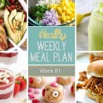 Healthy Meal Plan Week #81