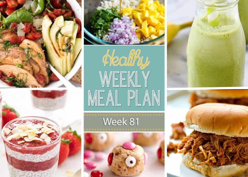 Healthy Meal Plan Week 81