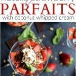 Nutella Strawberry Parfait Recipe | Easy Strawberry Dessert Recipe