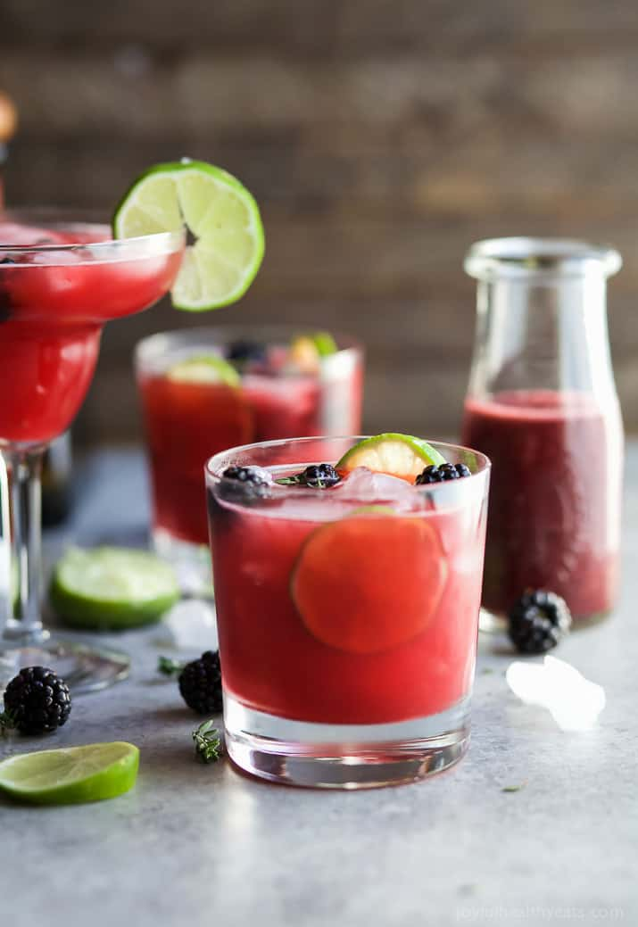 Thyme Blackberry Margaritas | Easy Healthy Recipes Using ...