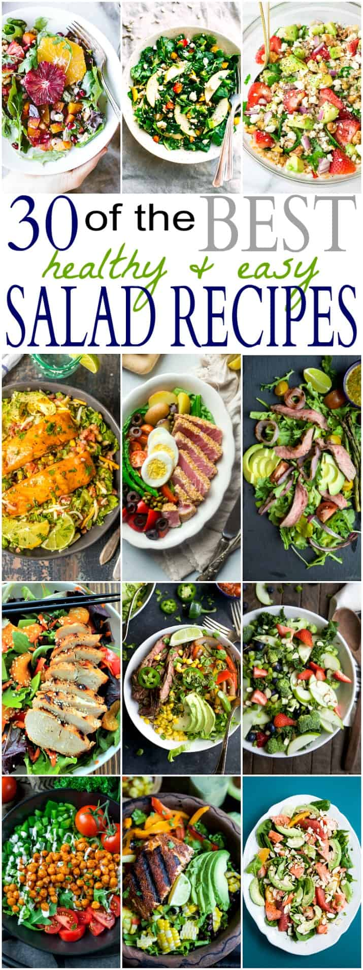 30 of the best healthy easy salad recipes easy healthy recipes 30 of the best healthy easy salad recipes out there easy fresh forumfinder Images