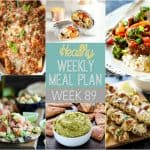 Healthy Meal Plan Week #89
