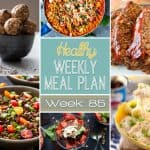 Healthy Meal Plan Week #85