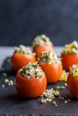 Image of Mediterranean Quinoa Stuffed Peppers