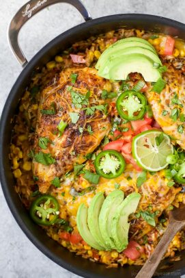 Image of One Pan Southwestern Chicken and Rice