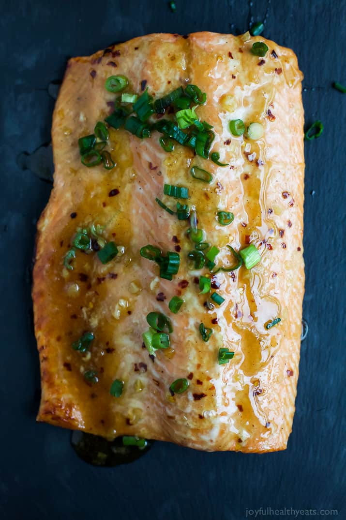 Sweet Chili Baked Salmon Recipe