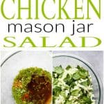 Asian Chicken MasonJar Salad Recipe | Rotisserie Chicken Lunch Idea