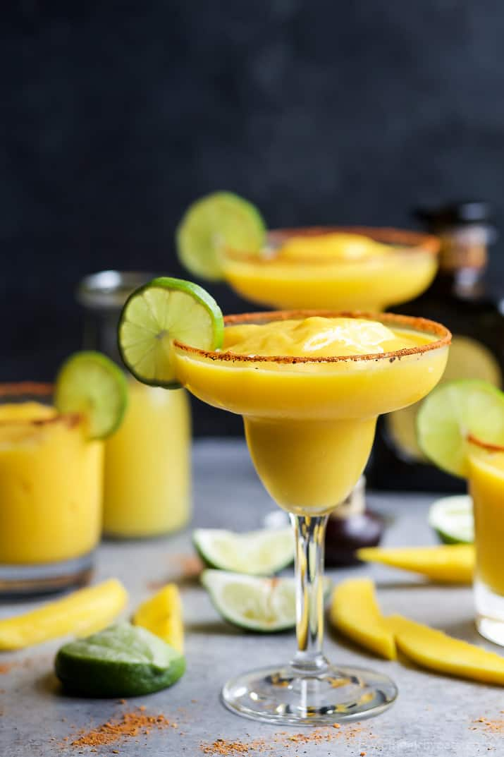 Frozen Mango Margarita Easy Healthy Recipes