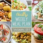 Healthy Meal Plan Week #91