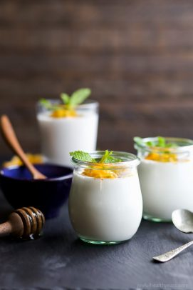 Image of Paleo Panna Cotta with Passion Fruit