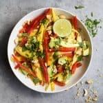 Thai Mango Avocado Salad
