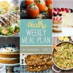 Healthy Meal Plan Week #90