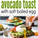 Avocado Toast with Soft Boiled Egg