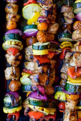 balsamic chicken kabobs