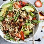 Easy Strawberry Avocado Pasta Salad - web-6