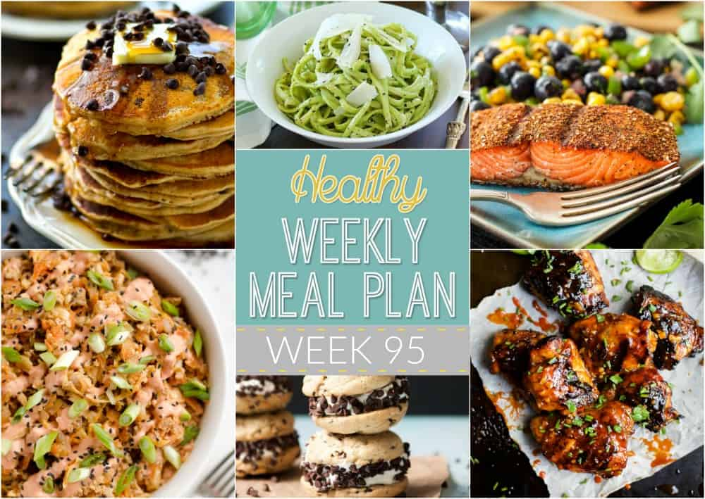 Organize Your Meals For The Week While Keeping Them Easy Healthy And Something Family Will Love Everything You Need In One Meal Plan Breakfast