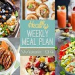 Healthy Meal Plan Week #94