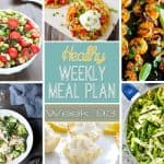 Healthy Meal Plan Week #93