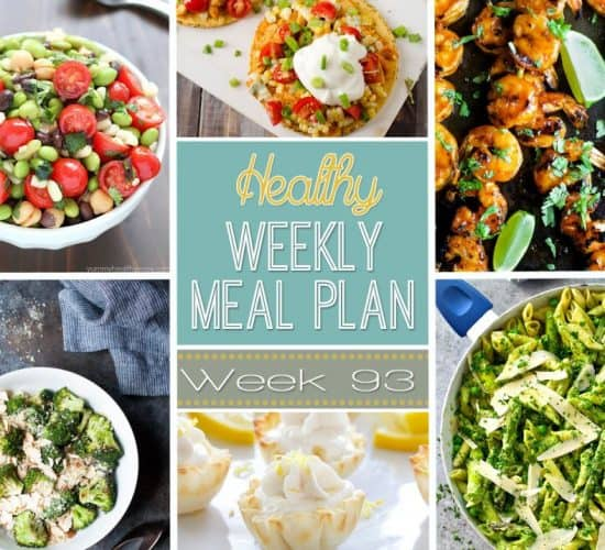 Make your life easier AND healthier with this family friendly Healthy Meal Plan! Healthy recipes that you & the kids will love for breakfast, lunch, and dinner with a few snacks and desserts snuck in!