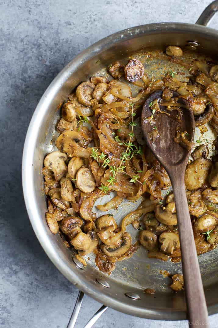 Image of Caramelized Onions & Mushrooms