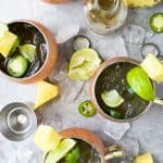 Jalapeno Pineapple Moscow Mule
