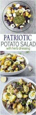 Patriotic Potato Salad Recipe | Perfect Potluck Potato Salad