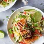 Teriyaki Salmon with Asian Noodle Salad - web-4