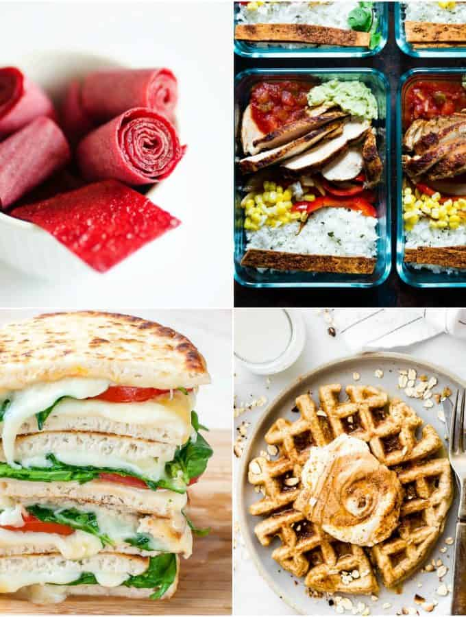 39 of the Ultimate Back to School Recipes - from breakfast recipes, to snack, lunch and dinner. You're gonna love the easy recipes here to make back to school season a breeze!