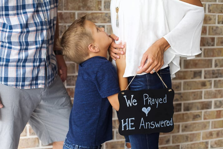 Our story of a promise long waited for. A journey of infertility through pain, heartache, faith, a hope restored, and joy! God is faithful and His promises are true!