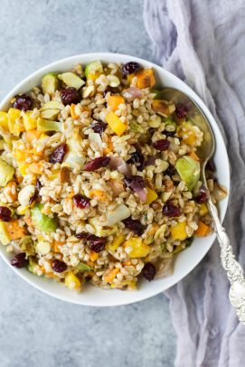 Image of Harvest Butternut Squash Farro Salad