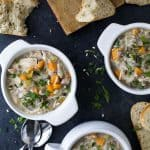 Crock Pot Chicken & Wild Rice Soup