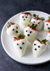 Image of Chocolate Covered Strawberry Ghosts