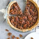 Homemade Pecan Pie (no corn syrup)