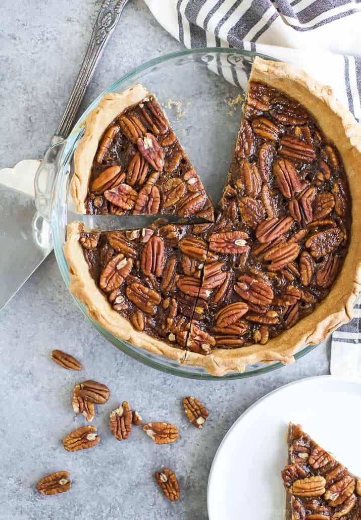 Homemade Pecan Pie (no corn syrup)