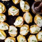 Smoked Gouda & Apple Crostini with Honey Drizzle - web-3
