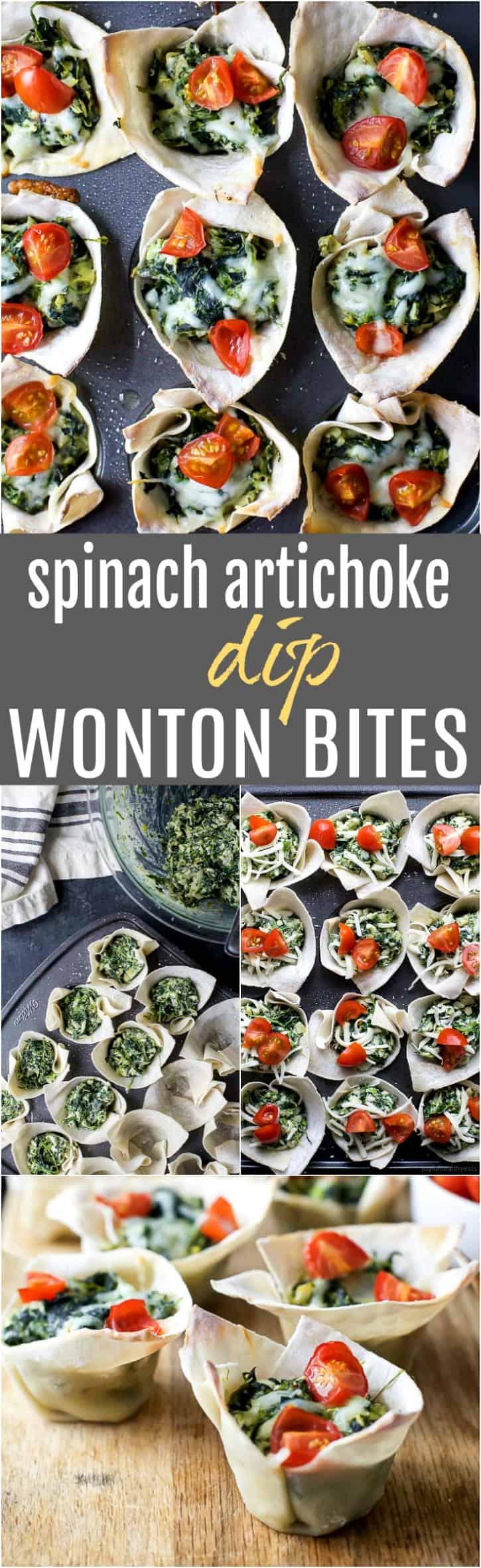 Easy Baked Wonton Bites Recipe