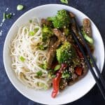 20 Minute Beef and Broccoli Stir fry Recipe-4