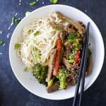20 Minute Beef and Broccoli Stir fry Recipe