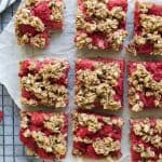 Almond Oat Raspberry Bar Recipe